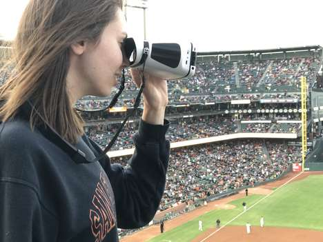 View-Recording Binoculars - The 'eyeQ' Smart Capture Binoculars Let You Share Your Experience
