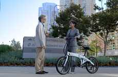 Speedy Electric Commuter Bikes - The 'JOLT' eBike Folds and Unfolds in 20 Seconds Flat