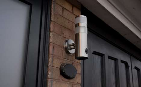 Panoramic Illumination Security Cameras