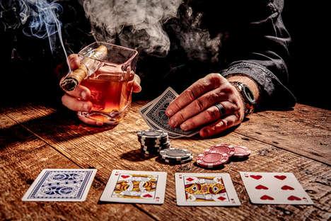 Cigar-Storing Whiskey Glasses