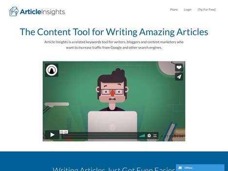 Content Optimization Platforms - 'Article Insights' Helps You Create Perfectly Optimized Content