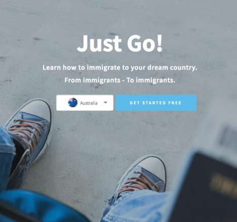 Informational Immigration Platforms - 'Duoflag' Shows You How to Immigrate to Your Dream Country