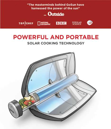 Portable Solar-Powered Water Heaters