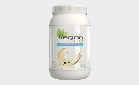 Plant-Based Supplement Shakes