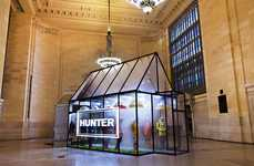 Misty Greenhouse Pop-Ups - Boots Brand Hunter Created a Pop-Up to Simulate the Scottish Highlands