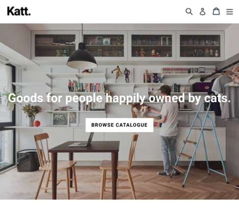 "Cat Paraphernalia Webshops - 'Katt' is an Online Shop ""for People Happily Owned by Cats"""