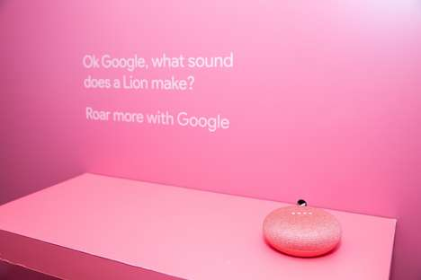 Multi-Sensory Tech Showcases - Google's 'Curiosity Rooms' Offer Hands-On Interaction with Its Tech