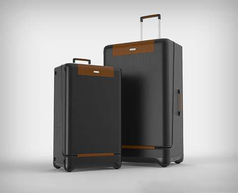 360-Degree Movement Luggage - The Spherical Wheel Luggage Offers Enhanced Stability for Travelers