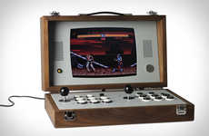Antiquated Two-Player Consoles - The Love Hulten Cary42 Console Boasts a Portable Design