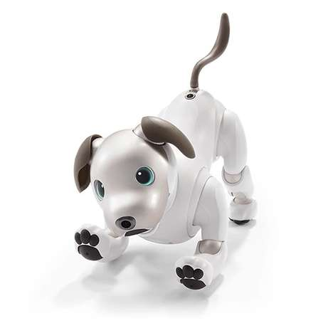 Robotic AI Canine Companions - The New Sony Aibo Robot Dog Features Sparkling OLED Eyes