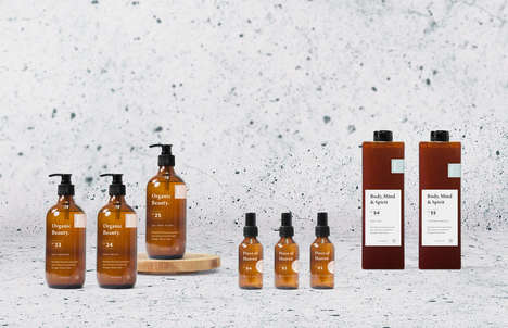 Spiritual Skincare Concepts - 'Vaedra' Juxtaposes Luxury and Glamour with Modern Spirituality