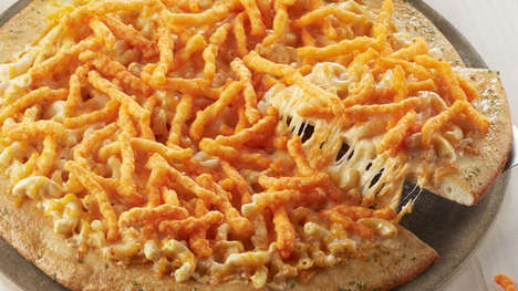 Macaroni Snack-Topped Pizzas