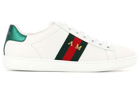 Personalized Designer Sneakers - A Gucci Bespoke Service is Now Available Through MyTheresa.com