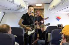 In-Flight Musical Concerts - Southwest Airlines is Offering Live In-Flight Entertainment