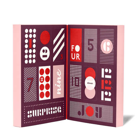 Holiday Beauty Advent Calendars - The Countdown to Beauty Calendar Gets You in the Holiday Mood