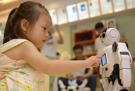 Robot-Assisted Tech Stores