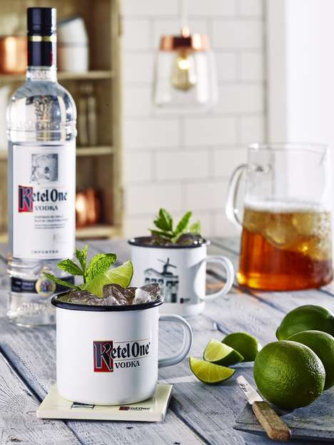 Award-Winning Artisan Cocktails - These Ketel One Cocktails are Created by World Class Mixologists