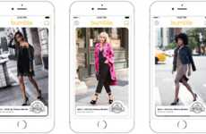 Dating App Fashion Ads - Alice + Olivia is Advertising First Date Outfits to Women on Bumble