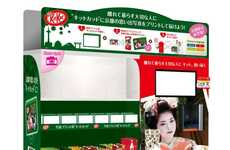 Custom Candy Vending Machines - 'Travel Memories Kit Kat' Distributes Personalized Bars in Kyoto
