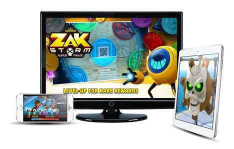 Multi-Screen Play Experiences - The Zak Storm – Super Pirate TV Show Connects with Toys and an App