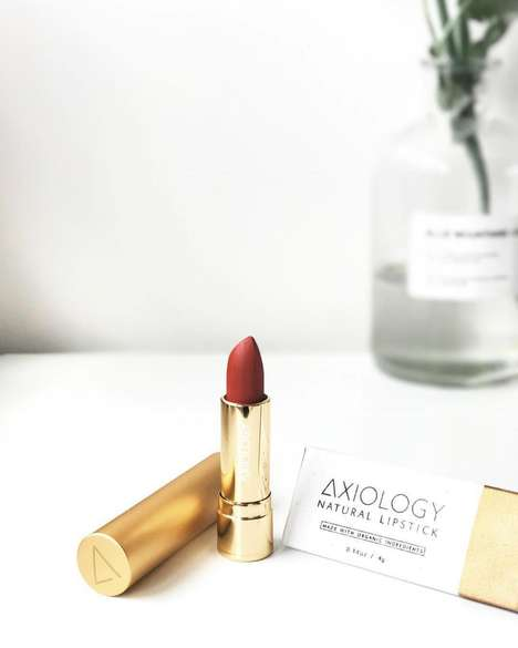 Upcycled Lipstick Boxes - Axiology's Lipstick Packages Repurpose Paper Collected in Bali