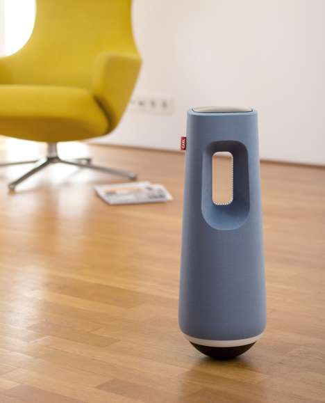 Rolling Home Security Robots - The 'CARL' Robot Monitors Your Space When You're Away for Problems