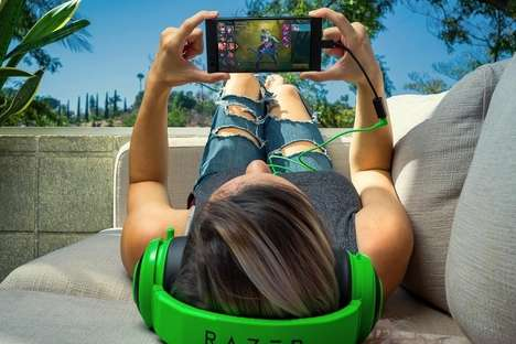 Powerful Gamer Smartphones - The Razer Phone Has Excellent Specs for Mobile Gaming