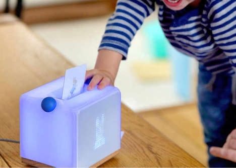 Interactive Education Speakers - The 'Yoto' Speaker Allows Children to Play and Learn