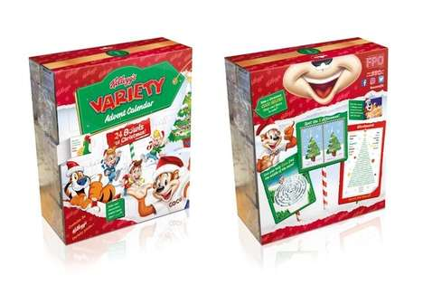 All-Cereal Advent Calendars - Kellogg's Created an Cereal-Centric Advent Calendar for December