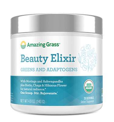 Adaptogenic Beauty Powders - Amazing Grass' Dietary Supplement for Beauty is Packed with Herbs