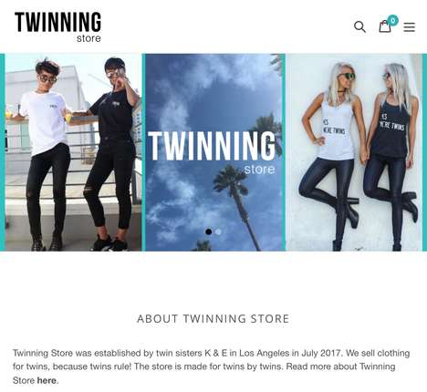 Twin Sibling Shopping Stores