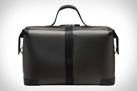 Carbon Fiber Travel Bags - The Porsche Design Carbon Weekender is Exceptionally Strong in Design
