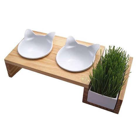 Planter Box Pet Bowls