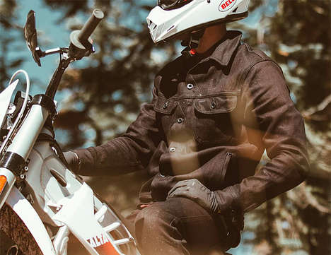 Cut-Resistant Denim Jackets - The Taylor Stitch Long Haul Jacket is 14-Times Stronger Than Steel