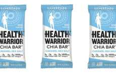 Small-Batch Seed Snacks - The Health Warrior Caramel Sea Salt Chia Bar Contains Just 100 Calories
