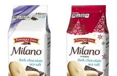 Seasonal Salty Chocolate Cookies - These Pepperidge Farm Milano Cookies are Available at Target