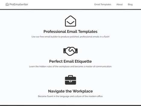 Email Etiquette Services - Startup ProEmailWriter Makes Professional Email Writing Less Complicated