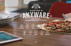 Integrated Pizza Delivery Systems - Domino's AnyWare Lets Consumers Order Though Any IoT Device