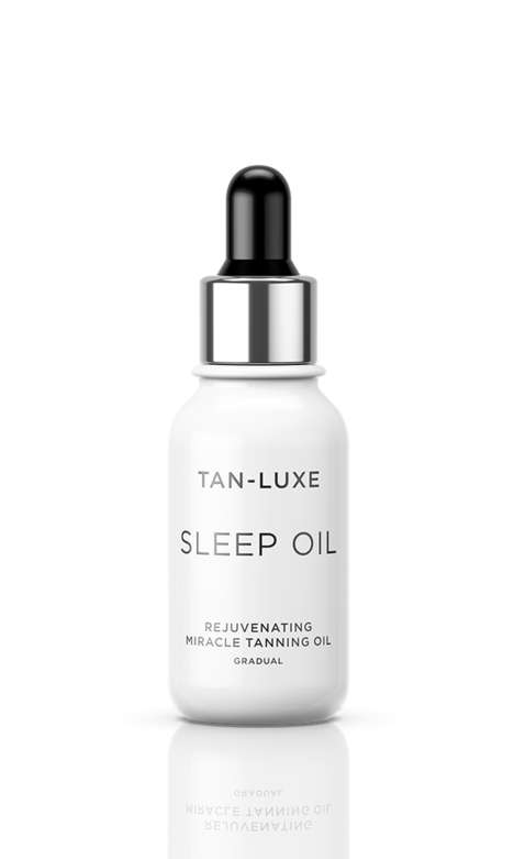 Overnight Tanning Oils - Tan Luxe's 'Sleep Oil' Hydrates Skin During Sleep and Provides a Glow
