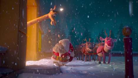 "Festive Mascot Ads - Toys 'R' Us' Ad for Christmas Introduces ""Geoffrey the Part-Time Reindeer"""
