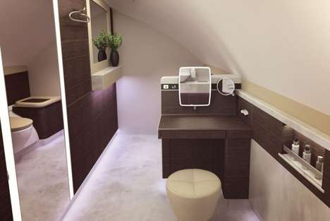 Luxorious Private Airplane Cabins - Singapore Airlines Introduced Private In-Flight Cabins