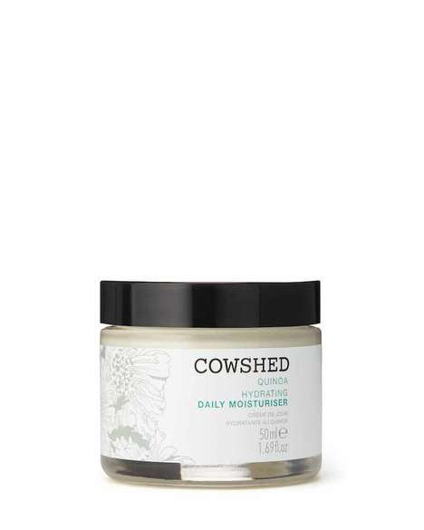 Hydrating Quinoa Moisturizers - Cowshed's Daily Moisturizer is Rich in Minerals, Vitamins & Proteins