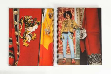 Designer Millennial-Inspired Lookbooks - Dolce and Gabbana Launched 'The New Renaissance'