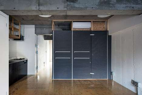Zippered Organizational Room Dividers - DMA's 'room with pockets' Stylishly Eliminates Clutter