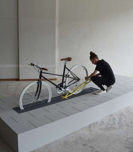 Hidden Public Bike Storage