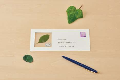 Natural Keepsake Postcards