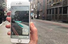 AR Navigating Apps - Blippar's Navigation App Offers Directions and Contextual Information