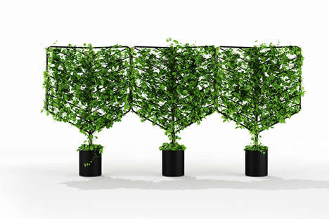 Buildable Interior Garden Frames - The Botanical Planter Makes It Easy to Add Greenery to a Home