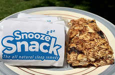 Sleep Aid Granola Bars - The 'Snooze Snack' is a Snack for Sleep with Rest-Inducing Ingredients