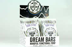 Relaxing Snack Bars - 'Dream Bars' Promote Calm, Focus, Sleep and Lucid Dreaming